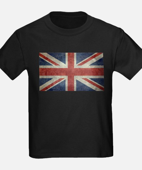 Union Jack flag - vintage retro style T-Shirt