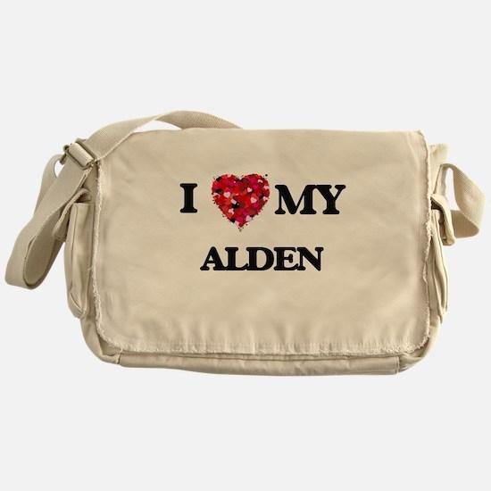 I love my Alden Messenger Bag