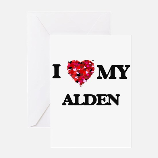 I love my Alden Greeting Cards