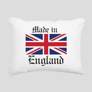 Made in England Rectangular Canvas Pillow