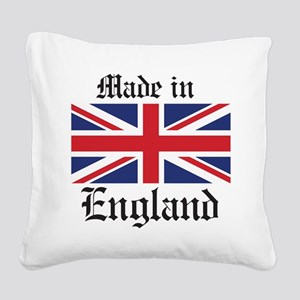 Made in England Square Canvas Pillow