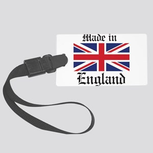 Made in England Luggage Tag
