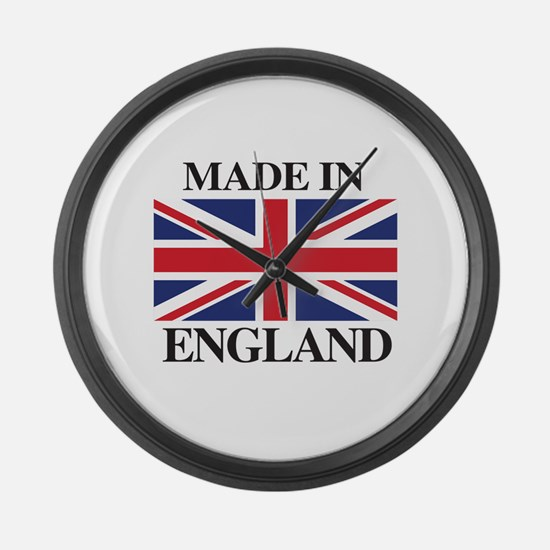 Made in ENGLAND Large Wall Clock