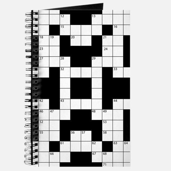 Cool Crossword Pattern Journal