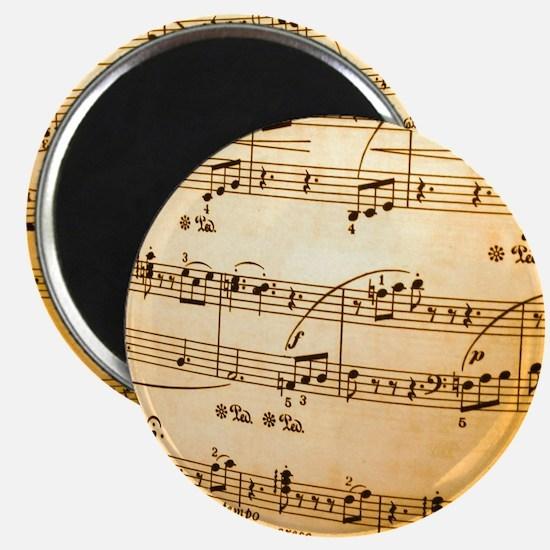 Music Sheet Magnet