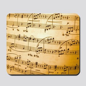 Music Sheet Mousepad