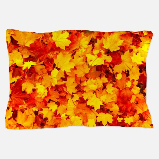 Maple Leaves Pillow Case