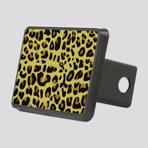 Jaguar Texture Rectangular Hitch Cover