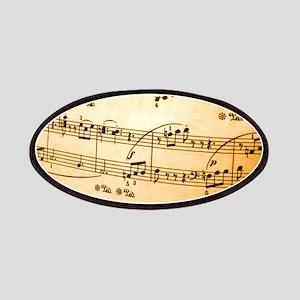 Music Sheet Patch