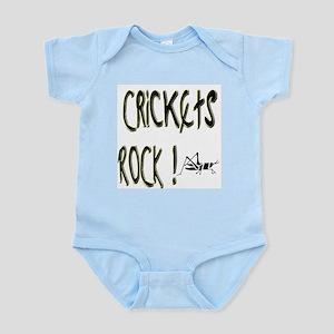 Crickets Rock ! Infant Bodysuit