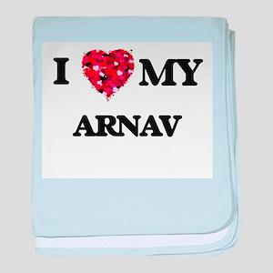 I love my Arnav baby blanket