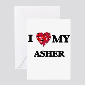 I love my Asher Greeting Cards