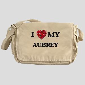 I love my Aubrey Messenger Bag