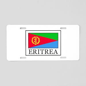 Eritrea Aluminum License Plate