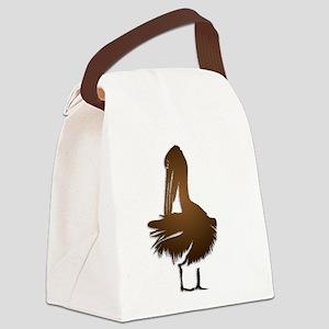 Bronze Pelecan Canvas Lunch Bag