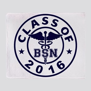 Class Of 2016 BSN Throw Blanket
