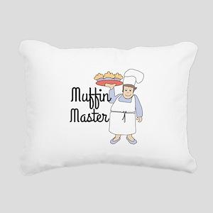 Maffin Master Rectangular Canvas Pillow