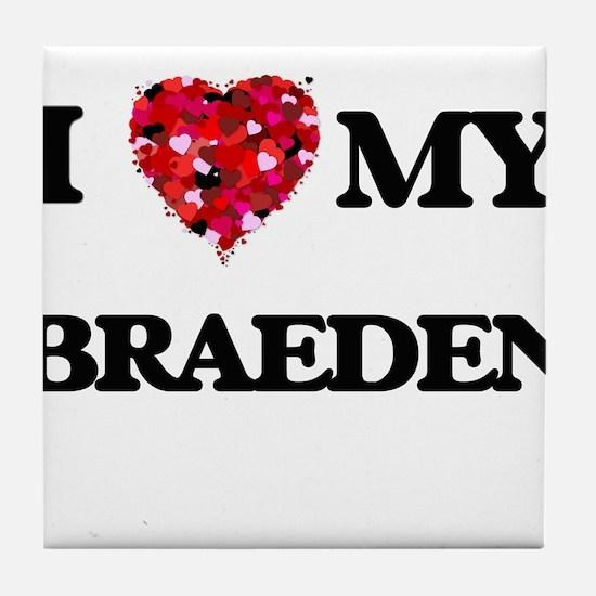 I love my Braeden Tile Coaster