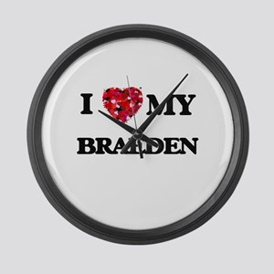 I love my Braeden Large Wall Clock