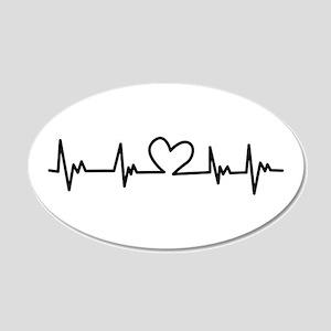Heart Beat Wall Decal