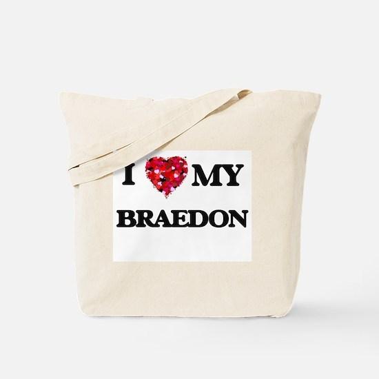 I love my Braedon Tote Bag