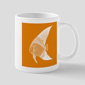Orange Tropical Fish Mugs
