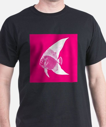 Hot Pink Tropical Fish T-Shirt