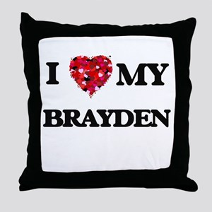 I love my Brayden Throw Pillow