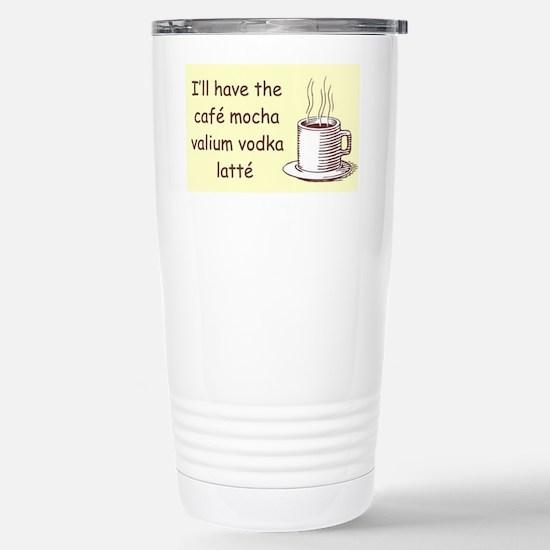 CAFE MOCHA Stainless Steel Travel Mug