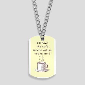 CAFE MOCHA Dog Tags
