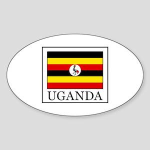 Uganda Sticker (Oval)