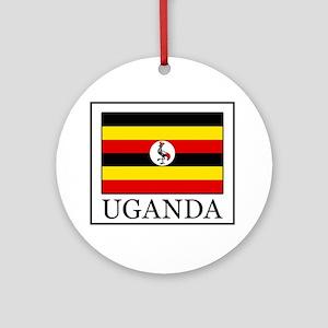 Uganda Ornament (Round)