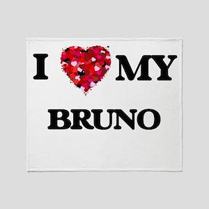 I love my Bruno Throw Blanket