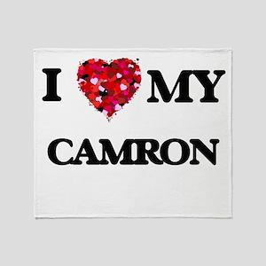 I love my Camron Throw Blanket