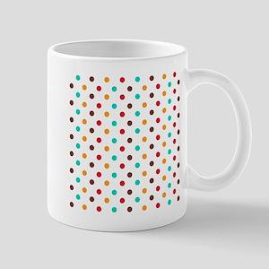 Multi Color Polka Dots Mugs