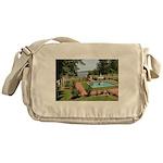 Long Island New York Messenger Bag