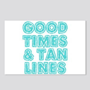 Good Times and Tan Lines Postcards (Package of 8)
