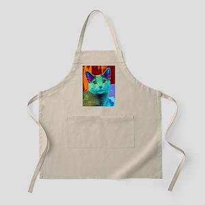 Pop Cat Art Apron