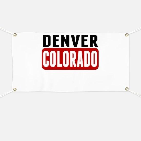 Denver Colorado Banner
