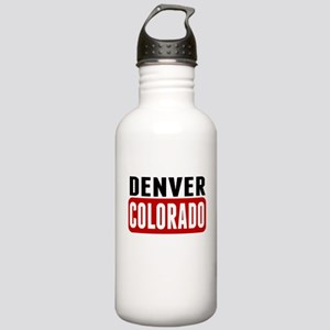 Denver Colorado Water Bottle