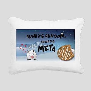 ARAMbling Poro Banner Rectangular Canvas Pillow