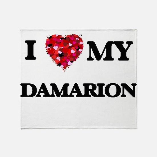 I love my Damarion Throw Blanket