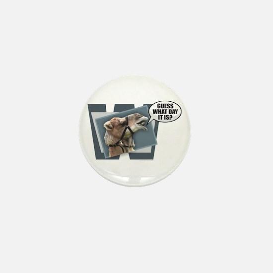 Cute Hump day camel Mini Button (10 pack)
