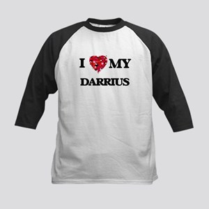I love my Darrius Baseball Jersey