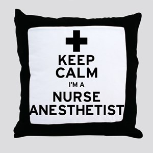 Nurse Anesthetist Throw Pillow