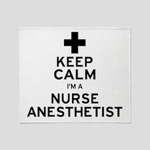 Nurse Anesthetist Throw Blanket