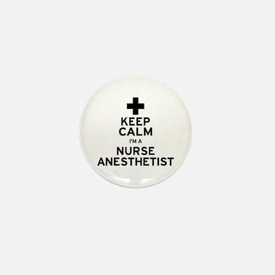 Nurse Anesthetist Mini Button
