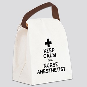 Nurse Anesthetist Canvas Lunch Bag