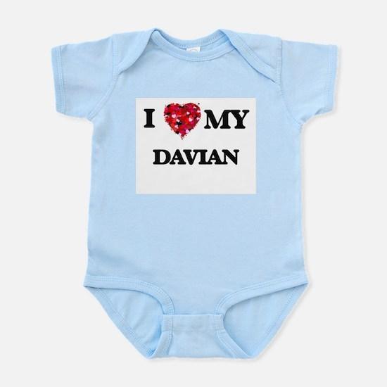 I love my Davian Body Suit