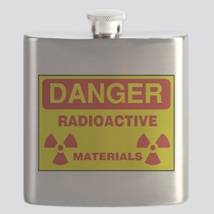 DANGER - RADIOACTIVE ELEMENTS! Flask